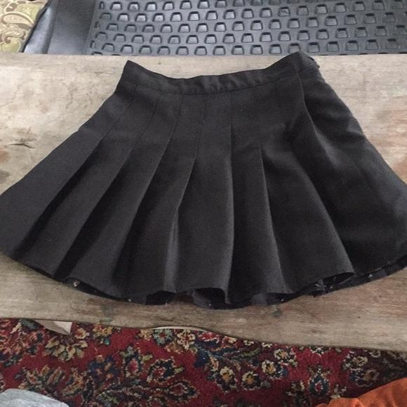 18560fb4937404 American Apparel Dresses & Skirts - American apparel black school girl skirt